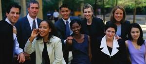 smiling diversity